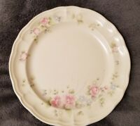 "Pfaltzgraff TEA ROSE Dinner Plates 10 3/8"" - XLNT Condition"