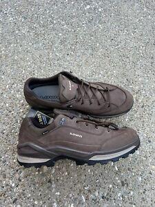 Lowa Renegade GTX Lo Men's Size 15 S Narrow Espresso/beige brown Hiking Shoe