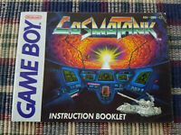 Cosmo Tank - Authentic - Nintendo Game Boy - GB - Manual Only!