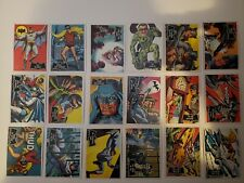 1966 TOPPS BATMAN COLOR - LOT OF 123 CARDS TRADING CARDS