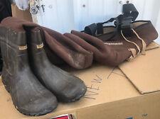 Mens HODGMAN Hunting Waders 2XL Neoprene Nylon 13 Boots Thinsulate C410BU Insltd