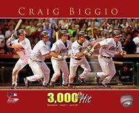 "Craig Biggio Houston Astros 3,00th MLB Hit Photo (Size: 8"" x 10"")"