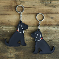 Cute COCKER SPANIEL Dog Keyring, Novelty Gift, PVC Key Ring, Bag Charm, FREE P&P