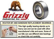 Bandsaw Guide / Router Bit Bearings 608Zz 608Z -2Z 608 2Z Zz Qty 8 Grizzly G3845