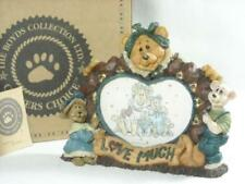 "BOYD'S BEARS CARVERS CHOICE MARTHA BIGHEART..""LOVE MUCH"" PICTURE FRAME 2E/1117"