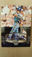 2004 ROBIN YOUNT  Auto /50  SP #223 UD Timeless Teams  Short Print  !