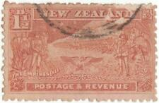 1900 New Zealand 1.5d brown S.G. 275 used stamp