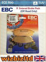 EBC Ant Sx Pastiglia Freno [Resistente Sinterizzato] [Tipo: Serie R] FA105R