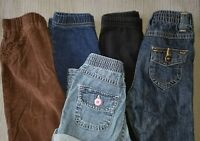 Lot of 5 Baby Girls Jeans & Pants, 18M, 18 Months.  *Free Priority Shipping*