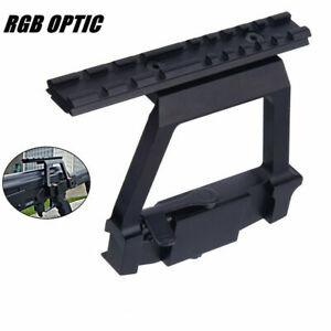 RGB Quick Realease Detach Scope Mount Tactical Side Rail Locker Picatinny Weaver