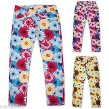 Pantalones de niña de 2 a 16 años de color principal multicolor