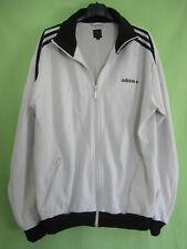 Veste Adidas Originals Blanche et noire Jacket Homme style vintage - XL
