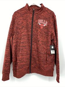 NBA Chicago Bulls Zippered Jacket  Style VKM5396F Sz L