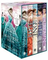 Selection Series Collection Kiera Cass 5 Books Box Set Elite Heir Crown One NEW