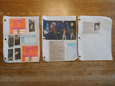 New Kids On The Block Nkotb Before Show Support Guest Pass Ticket Stub 1990