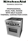 """KitchenAid -KDRP407-HSS 30"""" Dual Fuel Convection Range - Stainless steel photo"""