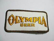 Olympia Beer Vintage Patch, NOS, Original, Embroidered 4 x 2 INCHES