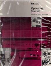 Original Hewlett Packard HP 3457A Multimeter Operating Manual 03457-90003 1986