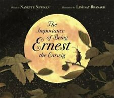 The Importance of Being Ernest the Earwig by Newman, Nanette Book The Fast Free