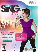 WOW!!! NEW SEALED Let's Sing 2016 with USB Microphone Bundle for Nintendo Wii