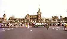 Disneyland opening day at main entrance 24X36 inch poster, mickey mouse