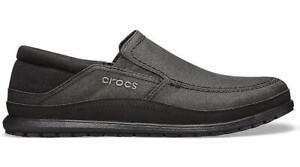 NEW GENUINE: Crocs Santa Cruz Playa Slip-On Black