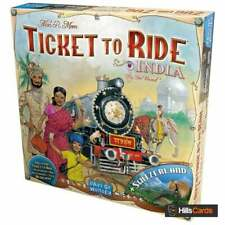 Ticket To Ride India + Switzerland Board Game Map Expansion By Days of Wonder