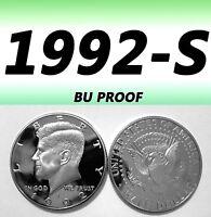 1974-S 50C KENNEDY BRIGHT CLEAR PROOF UNCIRCULATED HALF DOLLAR.===BU===C//N======