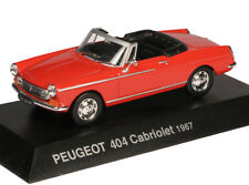 1:43 Altaya - Peugeot 404 Cabriolet Pininfarina 1967 - rot