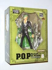 Megahouse One Piece P.O.P Roronoa Zoro Ver.2 Strong Edition 1/8 PVC Figure NEW