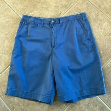 """Polo Ralph Lauren Shorts Mens 40 Classic Fit Faded Blue Cotton Chino 10"""" NWT $79"""