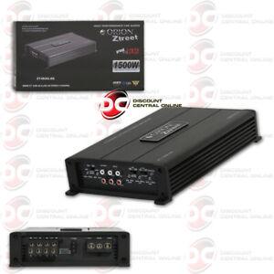 ORION ZT-1500.4S 4 CHANNEL CLASS AB CAR AUDIO AMP AMPLIFIER 200 WATTS RMS