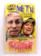 METH HEAD TEETH  fake #995 joke bad false hill  billy bob costume NEW GAG UGLY