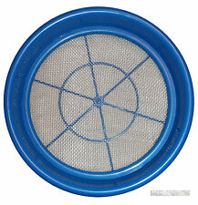 "GOLD pan Prospecting CLASSIFIERs 1/8"" Steel Mesh sieve"