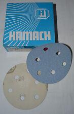 HAMACH -Dynamic Tackup (KLETT)- Schleifscheibe ∅ 125mm P320 (50 Stk.) 6 Loch