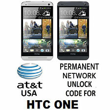 HTC One (M7) PNO7120 Permanent Unlock Code AT&T T-Mobile Rogers (All Network)