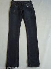 ☆ DOROTHY PERKINS Ladies Indigo Blue Skinny Jeans Trousers UK 6 EU 34 W24 L32 ☆