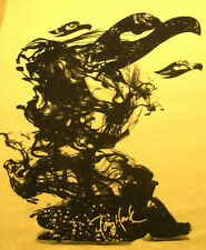 Tony Hawk Graphic T-Shirt Yellow Authentic Tee L