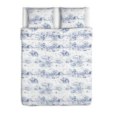 BLUE White TOILE 18th Century French pattern EMMIE LAND Duvet COVER Pillowcases