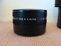 Leica 16545/12528 - Leica Elpro Nahvorsatz E60 für R 2.8/100mm - Lederbox !