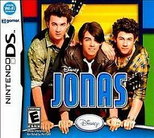 DISNEY JONAS NINTENDO DS GAME MANUAL CASE COMPLETE JONAS BROTHERS kevin nick joe