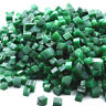 50.00 Cts Natural Colombian Green Emerald Gemstone Small Rough Cubes Loose Lot