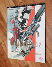 Metal Gear Solid 2 Sons of Liberty Lösungsbuch Buch Spieleberater Guide