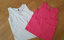 Matalan No Pattern Sleeveless Girls' T-Shirts & Tops (2-16 Years)