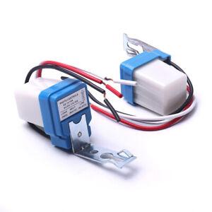 1pc Automatic Auto Night On Day Off Street Light Switch Photo Control Sensor 10A
