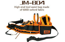 JAKEMY JM-B04 Multifunction Hardware Mechanics Canvas Tool Bag Electrician Belt