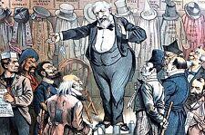 Magician 1884 BLAINE the CHANGE ARTIST Prohibition Catholics Greenbacks Germans