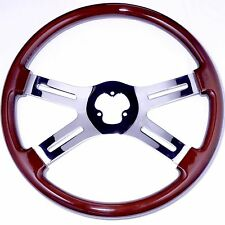 "4 Spoke 18"" Classic Steering Wheel 3-Hole for Freightliner, Peterbilt, KW & more"