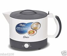 Oster Multicook Electric Multi Function Kettle Noodles Pasta Tea Coffee Maker 1L