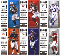 2017 Panini Contenders - Season Ticket Base Cards - Choose From Card #'s 1-100